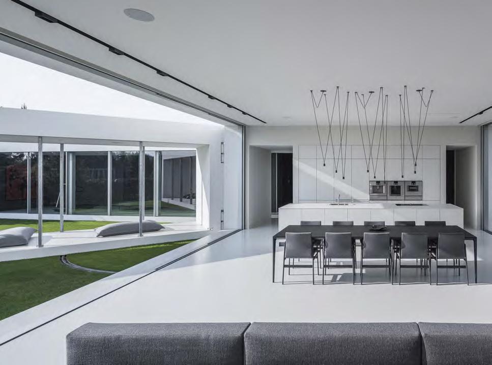 Interior of Quadrant House